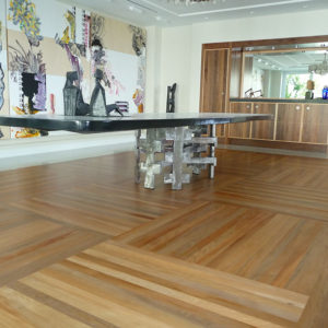 Dining room flooring