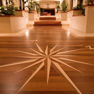 Wood Floor Artwork